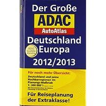 Der Große ADAC AutoAtlas Deutschland, Europa 2012/2013