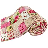 AMZ Microfibre Poly Cotton 999 TC Blanket (Multicolour_King)