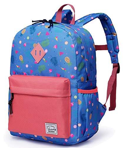 Kinderrucksack Mädchen Schultasche Kinder Rucksack Rucksack mit Tasche Obst Muster Rucksack Vorschule Buch Taschen