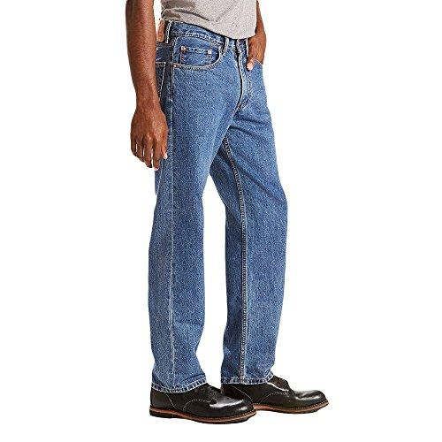 Levis Herren 550 Relaxed Fit Jean, Medium Stonewash, 32 x 30 - Levis 550 Jeans