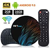 Android 9.0 TV Box 【2G+16G】con Mini Teclado inalámbirco RK3318 Quad-Core 64bit Android TV...