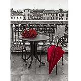 Bangle009Liquidation de Stock Beauté Lady Rose 5d Bricolage Diamant Peinture de Broderie au Point de Croix Home Décoration Murale, Rose Umbrella, Rose Umbrella...