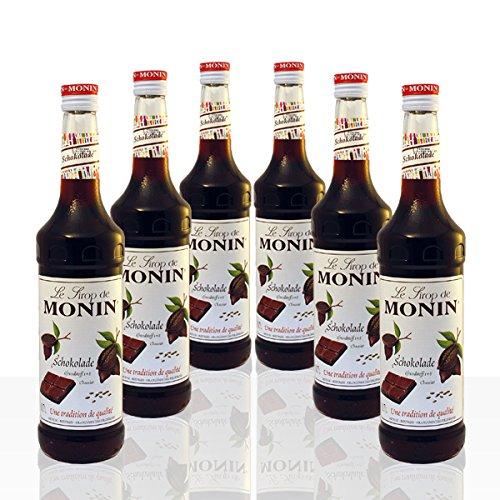 Monin Sirup Schokolade 6 x 0,7 l