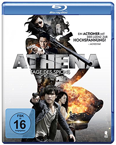 Athena - Tage des Spions - Die Mission Impossible Blu-ray