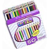 LolliZ® Set de 50 crayons de couleur