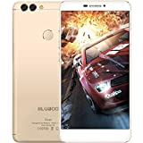 Taottao Bluboo Dual 4G phablet Android 6.035,5cm² + GB 2x posteriore telecamere Fingerprint Scan, Gold