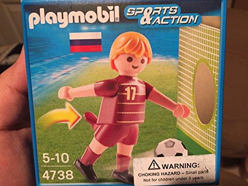 Playmobil 4738 - Fussbalspiel Rusland, mehrfarbig
