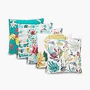 Home Centre Corsica Digital Print Cushion Covers - Set of 5-40 x 40 cm
