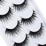 DAEDALUS� 5 Pairs Makeup False Eyelashes Handmade Long Thick Fake Eye Lashes Extension