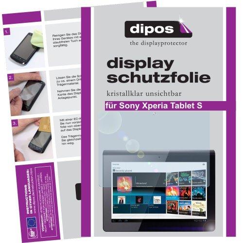dipos Sony Xperia Tablet Z2 Schutzfolie (2 Stück) - kristallklare Premium Folie Crystalclear