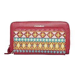 Chumbak Aztec Embroidered Tech Wallet
