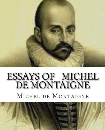 michel de montaigne essays pdf