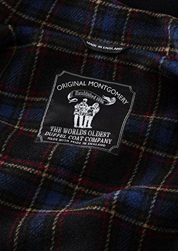 Original Montgomery Classic Long Dufflecoat Herren Navy