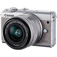 Canon EOS M100 - Appareil Photo Hybride + EF-M 15-45 mm F/3.5-6.3 IS STM - Gris