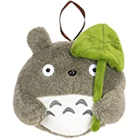 CoolChange peluche de Totoro avec feuille de Lotus