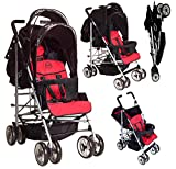 DUO Double buggy Twin Tandem Pushchair stroller 2 seat units, fully reclining lie