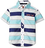 UFO Girls' Blouse Shirt (SS16-WF-GKT-714_Indigo Light Blue Wash_2 - 3 years)