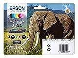 Epson original - Epson Expression Photo XP-950 (24XL / C13T24384011) - Tintenpatrone MultiPack schwarz,cyan,magenta, gelb,Foto-cyan,Foto-magenta - 740 Seiten
