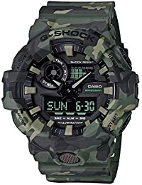 Casio G-Shock Analog-Digital Black Dial Men's Watch - GA-700CM-3ADR (G824)