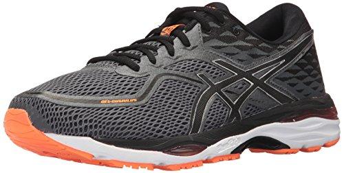 Asics Herren Gel-Cumulus® 19 Schuhe, 42.5 EU, Carbon/Black/Hot Orange (Gel-cumulus Schuh 9)