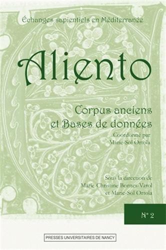 Aliento N 2 - Corpus Anciens et Bases de Donnees