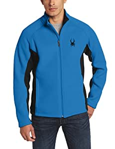 Spyder Men's Foremost Full Zip Core Sweater - Blue, Small