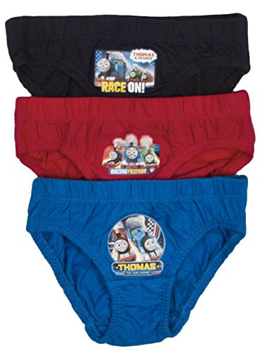 NEW KIDS BOYS 3 PACK OFFICIAL THOMAS THE TANK ENGINE TRAINS BRIEFS PANTS UNDERWEAR SET TODDLERS SIZE 18 months - 5 years Test