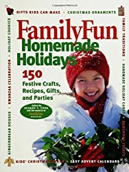 Family Fun Homemade Holidays by Deanna F. Cook (2002-08-19)