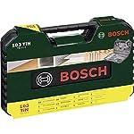 Bosch-2607017367-Punta-per-Trapano-set-V-Line-Titanium-103-Pezzi-Nero