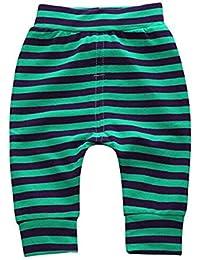 Ruth Wang Bebé Niño Niña De Longitud Completa De Rayas Impresas Hip Hop Pantalones Harem