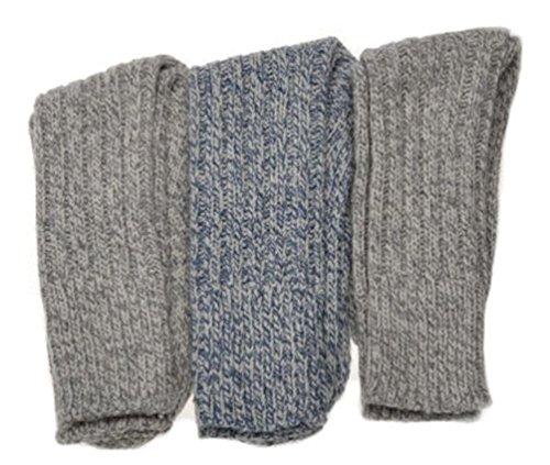 3 Paires de Chaussettes Épaisses et Chaudes de Randonnée en Mélange de Laine WB Socks