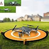 Kingwon RC Drone Landing Pad for Helicopter DJI Mavic Air Accessories, DJI Mavic Pro / Platinum 30 inch(75 centimeter) Collapsible Helipad Dronepad for DJI Phantom 2 3 4 Inspire, Spark
