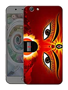 "Humor Gang durga maa shiv ji god Printed Designer Mobile Back Cover For ""Oppo F1s"" (3D, Matte Finish, Premium Quality, Protective Snap On Slim Hard Phone Case, Multi Color)"