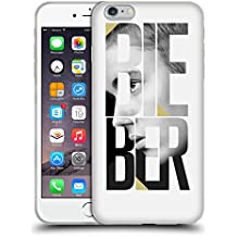 Official Justin Bieber Mirror Calendar Text Purpose B&W Soft Gel Case for Apple iPhone 6 Plus / 6s Plus