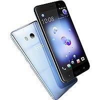 HTC U11 Smartphone (13,97cm (5,5 Zoll), 16 MP Frontkamera, 64GB Speicher, Android) Amazing Silver, mit Amazon Alexa