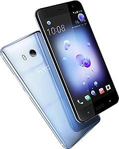 HTC U11 Smartphone (13,97cm (5,5 Zoll), 16 MP Frontkamera, 64GB Speicher, Android) Amazing Silver