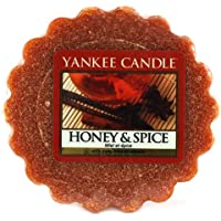 Yankee Candle Honey And Spice Tart da Fondere, Cera, Red, 1.9 x 5.7 x 5.5 cm