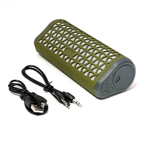 BMS ThinkBox Wireless Mobile/Tablet Portable Speaker (Green)