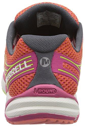 Merrell Bare Access Arc 4, Scarpe da Corsa Donna Multicolore (CORAL/FUCHSIA ROSE)