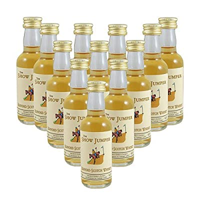 The Show Jumper Scotch Whisky 5cl Miniature - 12 Pack from Just Miniatures