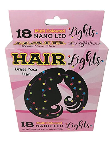 18 mehrfarbige Nano LED Haarlichter