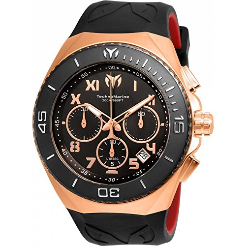 technomarine-mens-manta-48mm-black-silicone-band-steel-case-quartz-analog-watch-tm-215064