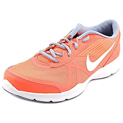 Nike Women's W Core Motion Tr 2 Bright Crimson, Cool Grey and White Running Shoes - 6 UK/India (40 EU)(7 US)