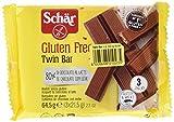Dr. Schar 03430 - Twin Bar barritas chocolate, paquete de 3 x 21,5 g - Total: 64,5 g