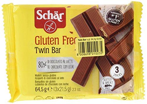 Barras de chocolate DR SCHÄR (3 barras de 21.5 gr)