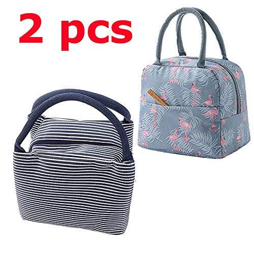 Slosh 2 borsa termica pranzo piccola bambini yogurt picnic ufficio porta alimenti bambini adulto donna 2 pcs
