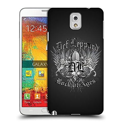 Offizielle Def Leppard Rock Of Ages Design Ruckseite Hülle für Samsung Galaxy Note 3