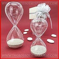 Ingrosso e Risparmio Venta AL por Mayor y Ahorro Reloj de Cristal con Pequeñas Perlas Plateadas