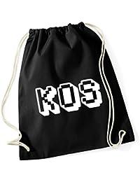 HippoWarehouse Kos Drawstring Cotton School Gum Kid Bag Sack 37cm x 46cm, 12 litres