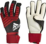 adidas Erwachsene Predator Pro Torwarthandschuhe, Black/Red/White, 10